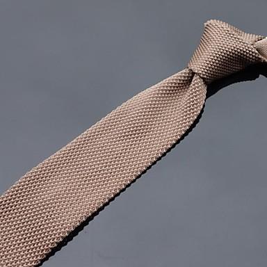 Bărbați Solid Toate Sezoanele Petrecere Casual Tricotaj,Cravată