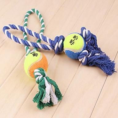 Brinquedo Para Cachorro Brinquedos para Animais Brinquedos para roer Interativo Corda Têxtil Para animais de estimação