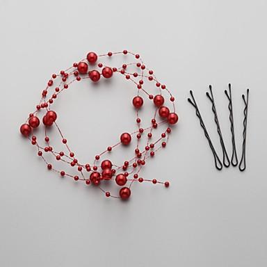 Γυναικείο Απομίμηση Μαργαριτάρι Headpiece-Γάμος Ειδική Περίσταση Λουλούδια