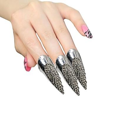 Ringe Damen Strass Silber / Legierung Silber / Legierung Einheitsgröße / 5 Silber Die Farben der Stickereien sind wie im Bild dargestellt.