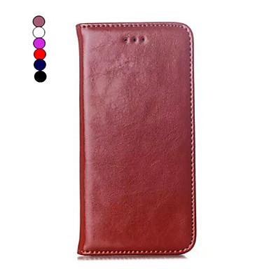 Pentru iPhone 8 iPhone 8 Plus iPhone 6 iPhone 6 Plus Carcase Huse Titluar Card Cu Stand Întoarce Magnetic Corp Plin Maska Culoare solidă