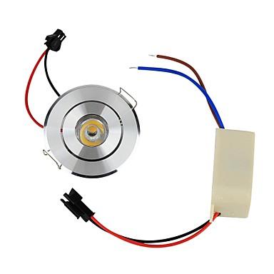 YouOKLight 110 lm Lâmpada de Teto Encaixe Embutido 1 leds LED de Alta Potência Decorativa Branco Quente AC 85-265V