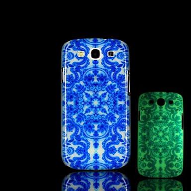 Voor Samsung Galaxy hoesje Glow in the dark / Patroon hoesje Achterkantje hoesje Geometrisch patroon PC Samsung S3