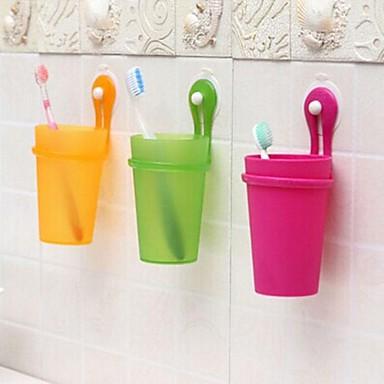 Κούπα για Οδοντόβουρτσες Ντους Πλαστικό Πολυλειτουργία / Φιλικό προς το περιβάλλον / Δώρο