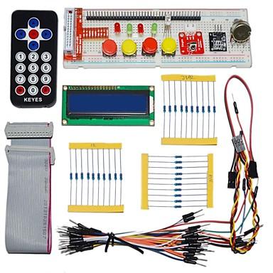 keyes elektronische onderdelen pakken voor Raspberry Pi (afstandsbediening zwart)