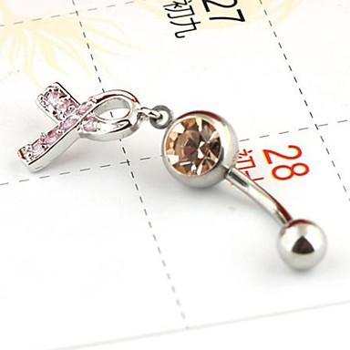 inele butonul organism bijuterii piercing arc clopot de culoare aleatoare