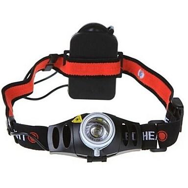 LS055 Hoofdlampen Fietsverlichting LED 150/350/200lm lm 3 2 Modus Cree XR-E Q5 inklusive Batterie Zoombare Verstelbare focus