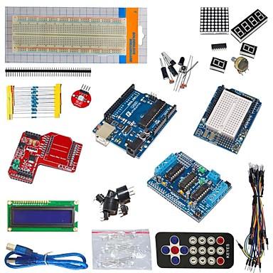 funduino uno r3 + l293d motor sürücü + kablosuz veri aktarım modülü