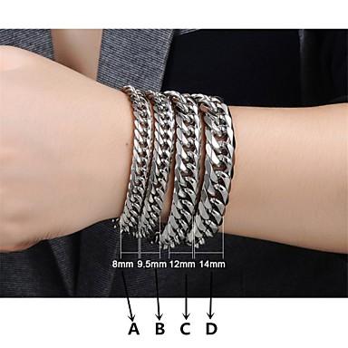 Heren Armbanden met ketting en sluiting - Armbanden B / C / D Voor Bruiloft / Feest / Dagelijks