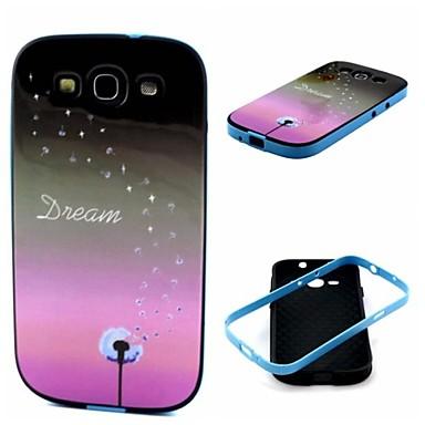 Voor Samsung Galaxy hoesje Schokbestendig / Patroon hoesje Achterkantje hoesje Paardenbloem TPU Samsung S3