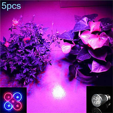 5W lm E26/E27 LED Spot Lampen MR16 5 Leds SMD Lila Wechselstrom 85-265V