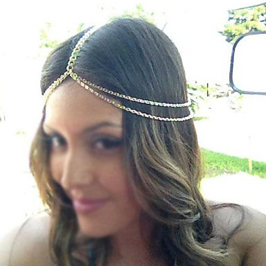 Kadın's Vintage alaşım Saç Bandı / Saç Bantları / Saç Bantları