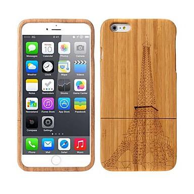 Capinha Para iPhone 6 Plus Capa Traseira Rígida Madeira para iPhone 6s Plus iPhone 6 Plus