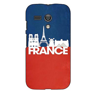 France Design Hard Case for Motorola MOTO G