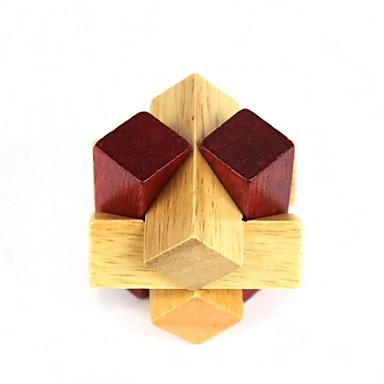 pädagogische hölzerne Polygon Ball Puzzle-Entriegelung Spielzeug für Kinder / Kinder - Holz