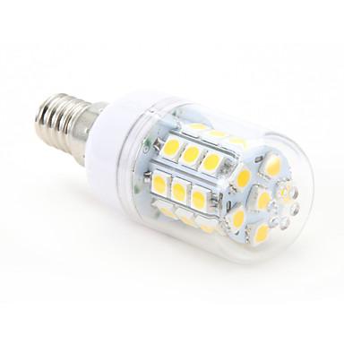 4W 300-350 lm E14 LED Mısır Işıklar T 30 led SMD 5050 Sıcak Beyaz AC 220-240V