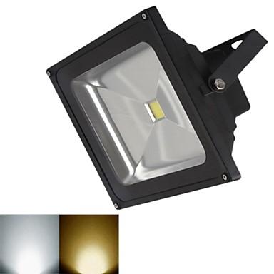 3000-3200/6000-6500 lm LED-schijnwerperlampen 1 leds COB Warm wit Koel wit DC 12V