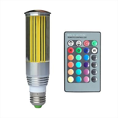 E26/E27 LED Λάμπες Σφαίρα 1 leds LED Υψηλης Ισχύος RGB 100lm RGBK AC 100-240V