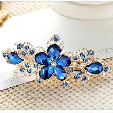 ieftine Bijuterii de Păr-Pentru femei femei Elegant de Mireasă Cristale / Strasuri Ștras Pietre Prețioase Artificiale Veșminte de cap Barete Nuntă Zilnic / Aliaj