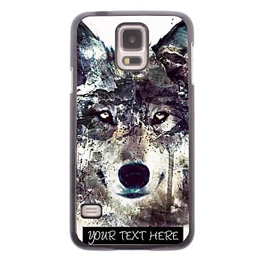caso de telefone personalizado - iceberg caixa de metal projeto do lobo para i9600 samsung galaxy s5