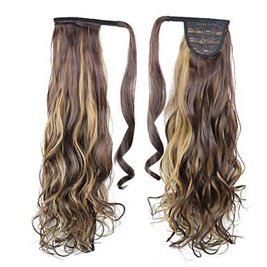 Rabos-de-Cavalo Alta qualidade Pedaço de cabelo Alongamento Clássico Diário