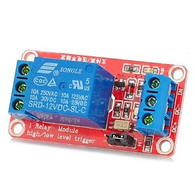 één kanaal 12v relais module w / opto-couplersisolation