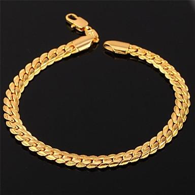 Heren Dames Armbanden met ketting en sluiting Vintage Armbanden Platina Verguld Verguld Legering Sieraden Voor Bruiloft Feest Dagelijks
