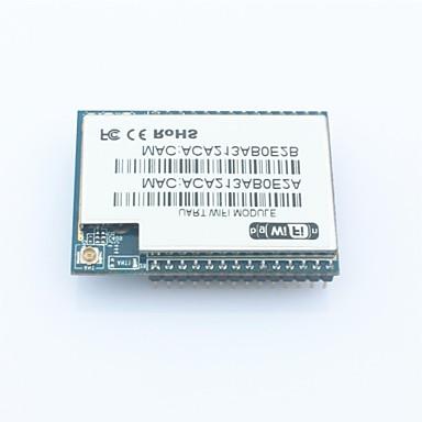 hi-koppeling hlk-rm04 seriële poort-ethernet-wi-fi adapter module - blauw + zwart