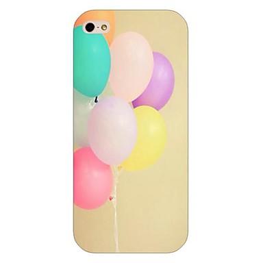 hoesje Voor iPhone 5 Apple iPhone 5 hoesje Patroon Achterkant Balloon Hard PC voor iPhone SE/5s iPhone 5