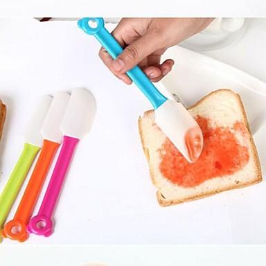 Mutfak aletleri Silikon Isı yalıtımlı Kesici ve Dilimleyici Ekmek