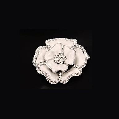 european estilo de moda retro strass broche de flor (single)