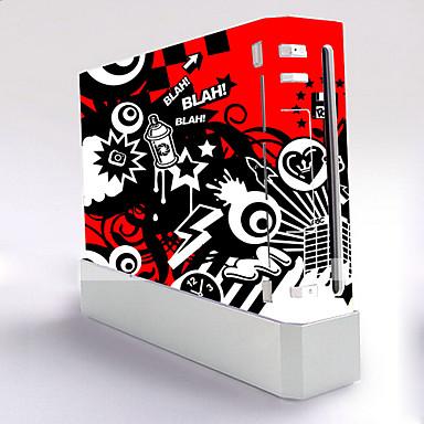 B-SKIN Tarra Käyttötarkoitus Wii U / Wii ,  Erikois Tarra PVC 1 pcs yksikkö
