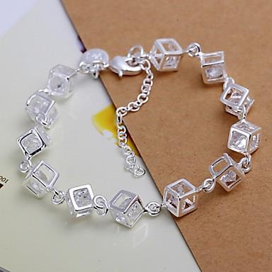 Dames Verzilverd Bedelarmbanden - Armbanden Voor Kerstcadeaus Bruiloft Feest Dagelijks Causaal