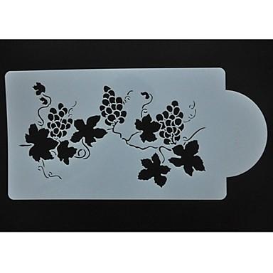 bolo suprimentos projeto do estêncil de decoração do bolo, stencils bolo de pulverização decoração st-99