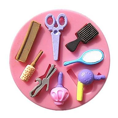 Bakeware araçları Silikon Çevre-dostu / Kendin-Yap Kek / Kurabiye / Tart Pişirme Kalıp 1pc