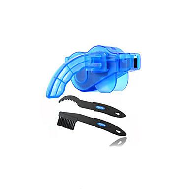 oeste biking® ciclismo portátil prático com escova de plástico bicicleta alpinista cadeia cleaner