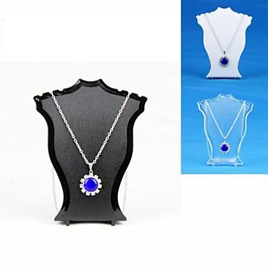 Подставки для бижутерии - Резина Мода Прозрачный, Черный, Белый 6 cm / Жен.