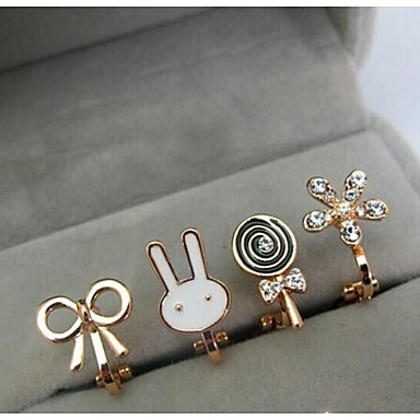 Γυναικεία Σκουλαρίκια με Κλιπ Κράμα Κοσμήματα Γάμου Πάρτι Καθημερινά Causal Κοστούμια Κοσμήματα