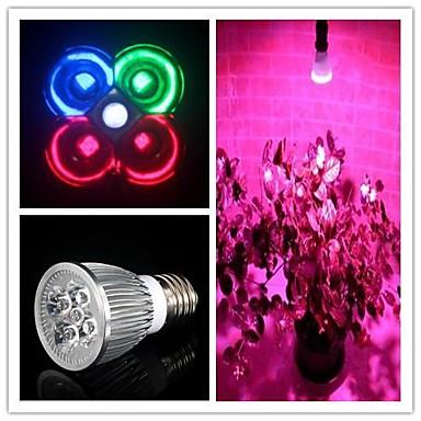 5 W 450-550 lm E26/E27 Καλλιέργεια λαμπτήρων MR16 3 leds LED Υψηλης Ισχύος Φυσικό Λευκό Πράσινο Μπλε Κόκκινο AC 85-265V