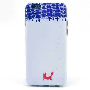 το μικρό κόκκινο αλεπού μοτίβο tpu μαλακό περίπτωση iphone 5c iphone περιπτώσεις