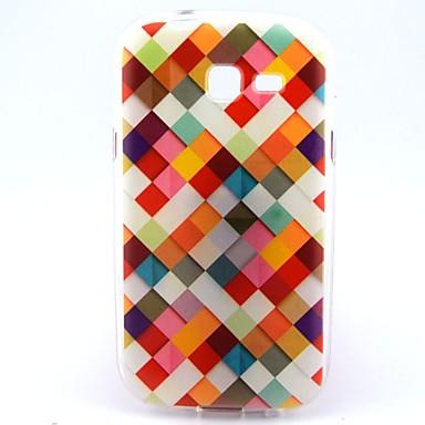 Voor Samsung Galaxy hoesje Patroon hoesje Achterkantje hoesje Geometrisch patroon TPU Samsung Trend Lite