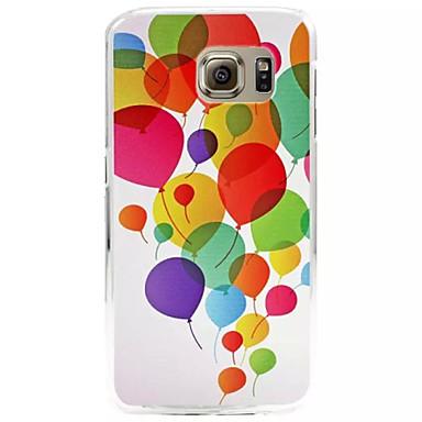 Voor Samsung Galaxy hoesje Hoesje cover Reliëfopdruk Achterkantje hoesje Ballon PC voor Samsung S6