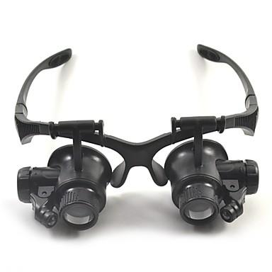 Verrekijker Vergrootglazen High-definition Headset Algemeen 10X / 15X / 20X / 25X 15mm Muovi