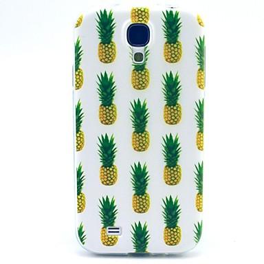 Voor Samsung Galaxy hoesje Patroon hoesje Achterkantje hoesje Fruit TPU Samsung S4