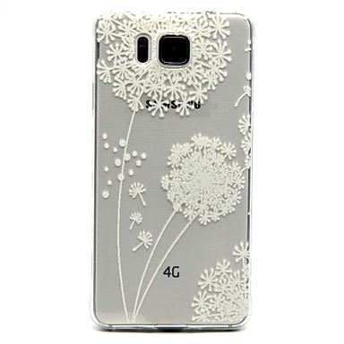 Για Samsung Galaxy Θήκη Διαφανής / Με σχέδια tok Πίσω Κάλυμμα tok Ραδίκι TPU Samsung Alpha