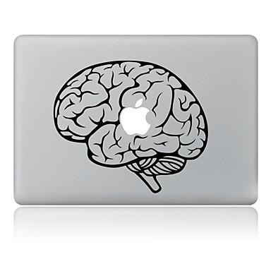 het hoofd ontwerp decoratieve huid sticker voor macbook air / pro / pro met retina-display
