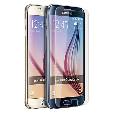 Προστατευτικό οθόνης για Samsung Galaxy S6 PET Προστατευτικό μπροστινής οθόνης Υψηλή Ανάλυση (HD)