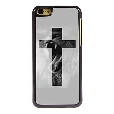 Πίσω Κάλυμμα - Γραφικά/Καρτούν/Μεταλλική/Ειδικό Σχέδιο/Άλλο/Πρωτότυπη - για iPhone 5C ( Πολύχρωμη , Μέταλο/ABS/Πλαστικό )
