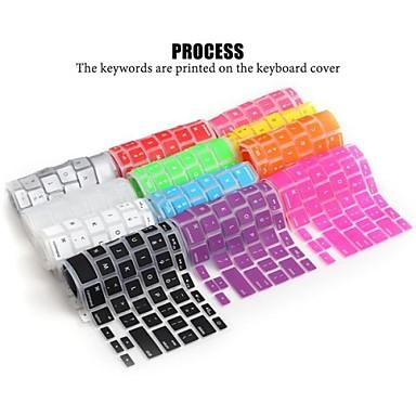 lention dizüstü elma macbook air macbook için yumuşak dayanıklı silikon klavye kapağı cilt 13/15/17 (çeşitli renk) pro