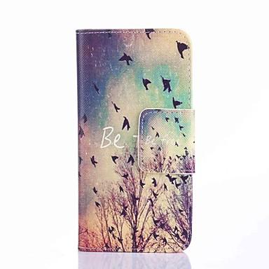 Para Samsung Galaxy Capinhas Carteira / Porta-Cartão / Com Suporte / Flip Capinha Corpo Inteiro Capinha Cenário Couro PU Samsung S6 edge